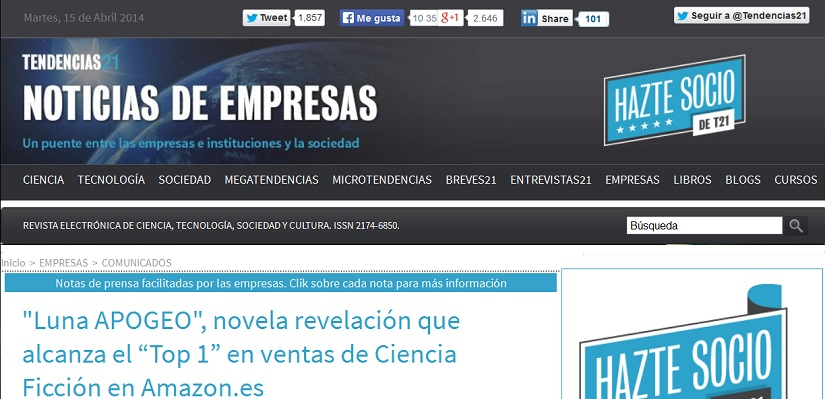 noticia en Tendencias 21
